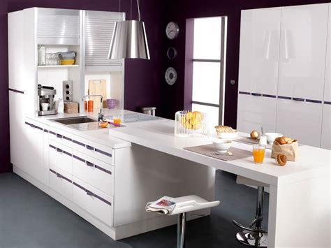 bar cuisine leroy merlin bar de cuisine design qui prolonge une plaque de cuisson