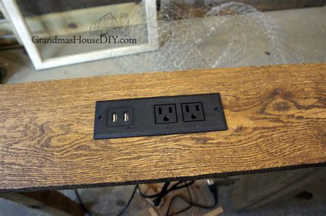 sofa table charging station console table charging station for behind our sofa diy