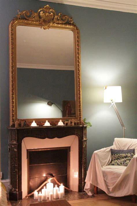 miroir de cheminée miroir sur chemin 233 e id 233 es de d 233 coration int 233 rieure