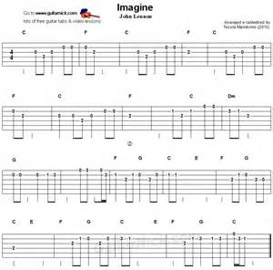 Imagine Easy Guitar Chords