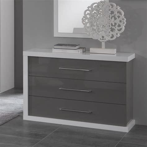 commode chambre design deco chambre adulte gris 11 commode design pas cher