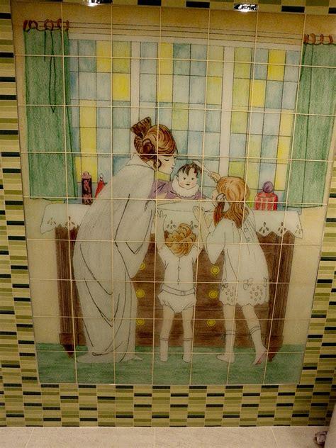 glass tile mosaic custom tile and tile murals