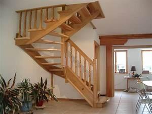 Garde Corp Escalier : escaliers bois sur mesure colmar r novation garde corps ~ Dallasstarsshop.com Idées de Décoration