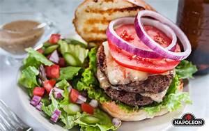 Double Decker Brisket Burgers on Cobs Gourmet Hamburger Buns