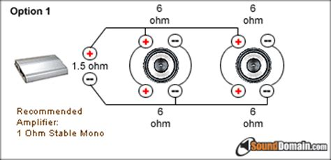 How Wire Dual Ohm Subs Ecoustics