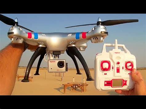 syma xg drone  mp hd camera review youtube