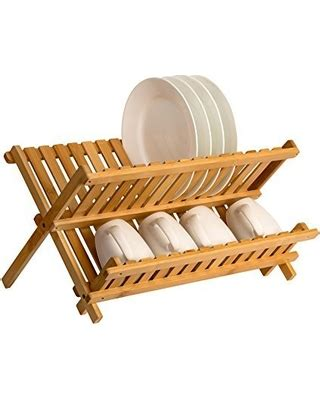 tis  season  savings  sagler wooden dish rack plate rack collapsible compact dish