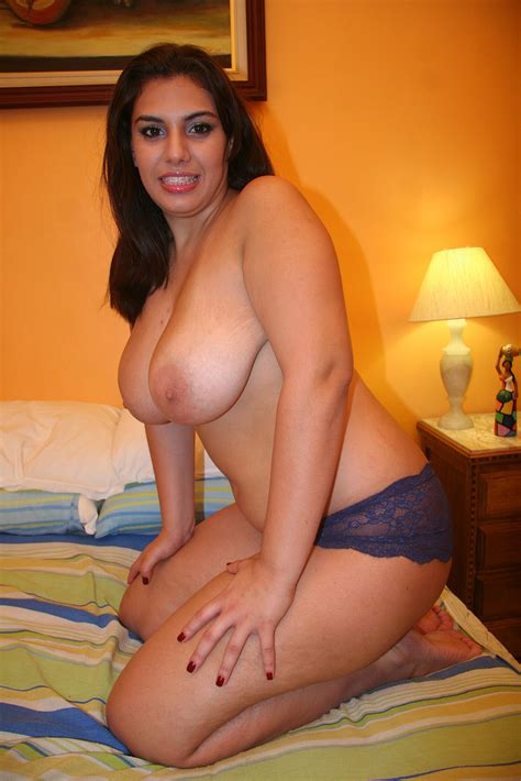 Chubby Latin Girl With Big Boobs Slips Out Xxx Dessert
