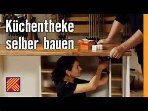 Schubladenschienen Selber Bauen : k chentheke selber bauen hornbach m belbau youtube ~ Yasmunasinghe.com Haus und Dekorationen