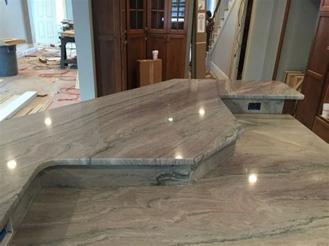 kitchen countertops fantasy macaubas quartzite stone