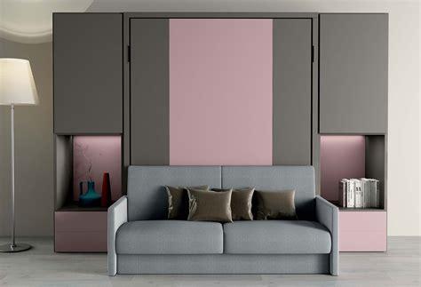 Nobu Double Murphy Bed With Sofa