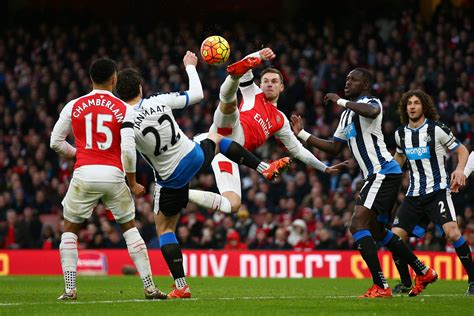 arsenal  newcastle player ratings london evening