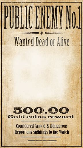 Download Wanted Poster Photo Maker Google Play softwares ...