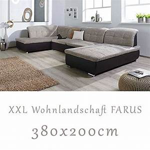 Couch In U Form Günstig : wohnlandschaft couchgarnitur xxl sofa u form braun cappuccino ottomane links ~ Bigdaddyawards.com Haus und Dekorationen