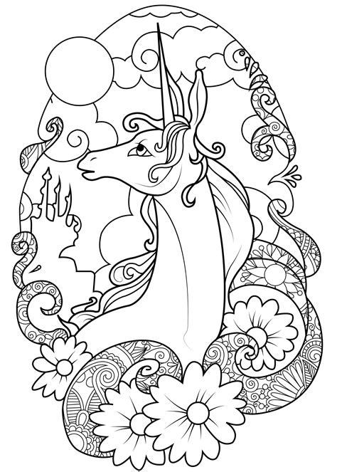 unicorno da stare e colorare per bambini unicorni 7786 unicorni disegni da colorare per adulti