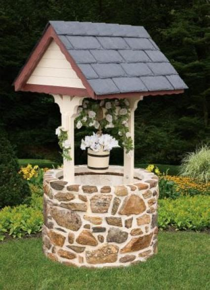 Backyard Well by Wishing Well I Can Do This With My Leftover Rock From