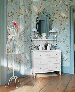 jolie chambre a coucher pour adulte avec papier peint With chambre a coucher avec papier peint