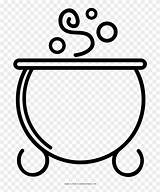 Cauldron Circle Coloring Pngfind sketch template