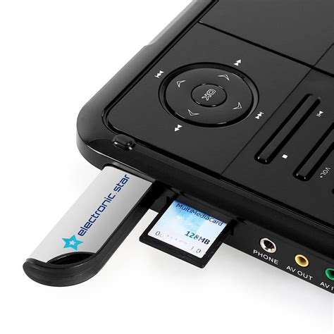 Portable Dvd Player For Car With Usb by Portable Dvd Player By Majestic Usb Sd 9 Quot Lcd 12v Car