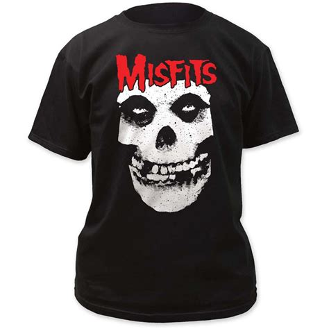 Red Skull Logo Misfits T-Shirt – Red Yeti Records
