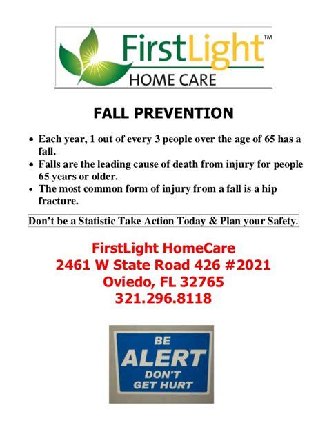 Firstlight Homecare Fall Prevention