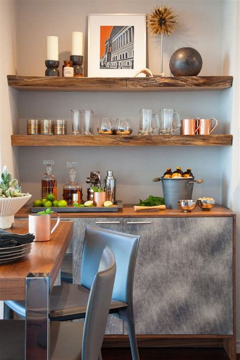 Home Bar Shelves by Rustic Built In Shelves Home Bar Contemporary With Drinks