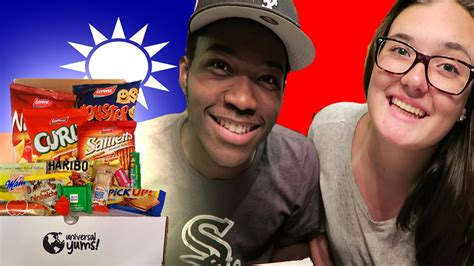 Trying Candy From Taiwan Feat. The