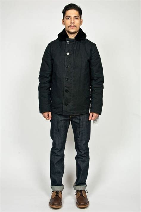 N1 Deck Jacket Spiewak by Spiewak N1 Gridwax Deck Jacket Black