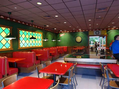 A Look Inside Of Moe's Tavern At Universal Studios Florida