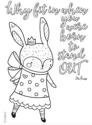 cute printable inspirational quotes coloring pages