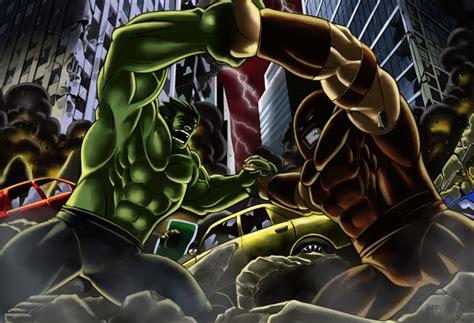 Incredible Hulk Vs Juggernaut Wallpaper