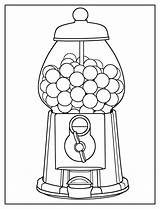 Gumball Coloring Machine Worksheets sketch template