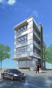 Small Office Building Designs 3D