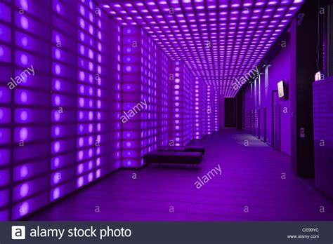 Led Lights For Room Purple by Purple Coloured Lights Front Of House Entrancce To Club