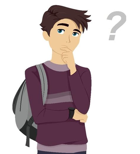 animated student thinking animated student thinking how to format cover letter