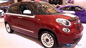 Fiat 500l Lounge : 2016 fiat 500l lounge exterior and interior walkaround 2016 montreal auto show youtube ~ Medecine-chirurgie-esthetiques.com Avis de Voitures