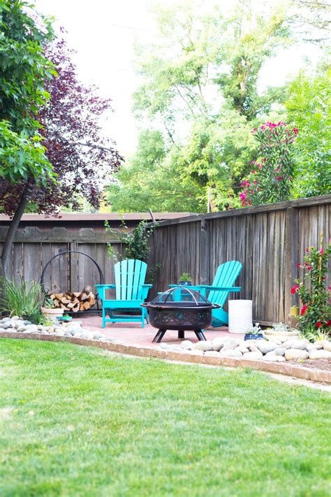 easy diy backyard patio  brick pavers lovely