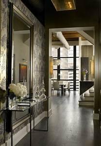 les 25 meilleures idees concernant console d entree sur With porte d entrée pvc avec grand miroir mural salle de bain