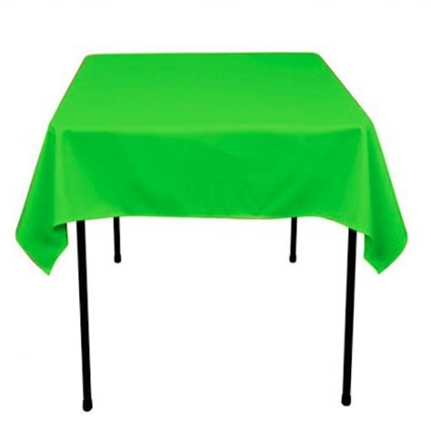 90 x 90 square tablecloth 10 pack 90 quot x 90 quot square overlay tablecloth 100 polyester 7389
