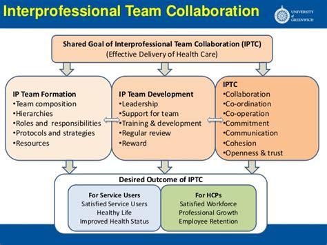 interprofessional team collaboration  hospitals