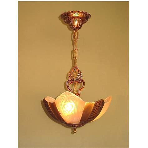 vintage airplane l shade 3 slip shade vintage chandelier vintagelights online