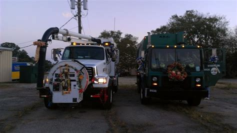 decorating  truck   christmas parade thriftyfun