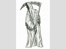 How to Draw the Grim Reaper, Step by Step, Creatures