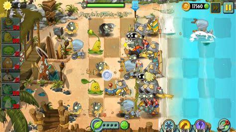 plants vs zombies 2 playa de la gran ola dia 10 11 12