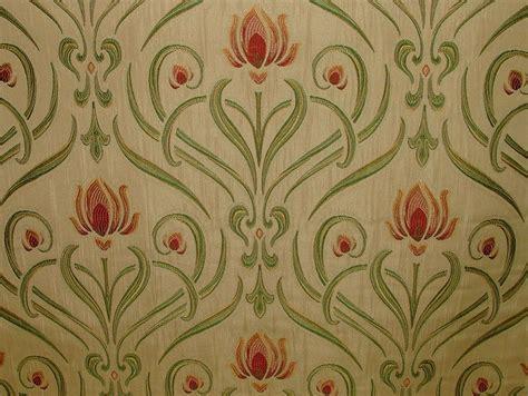 nouveau soft gold thick designer jacquard