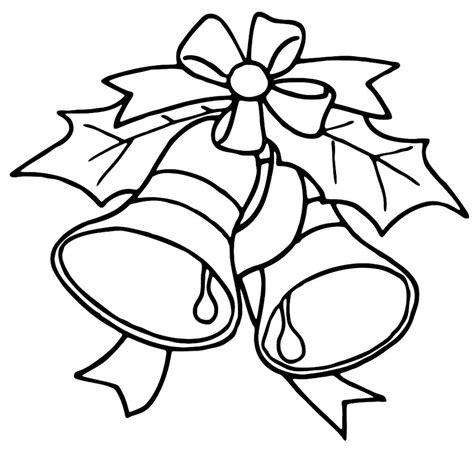 ausmalbilder weihnachtsglocken zum ausdrucken kostenlos