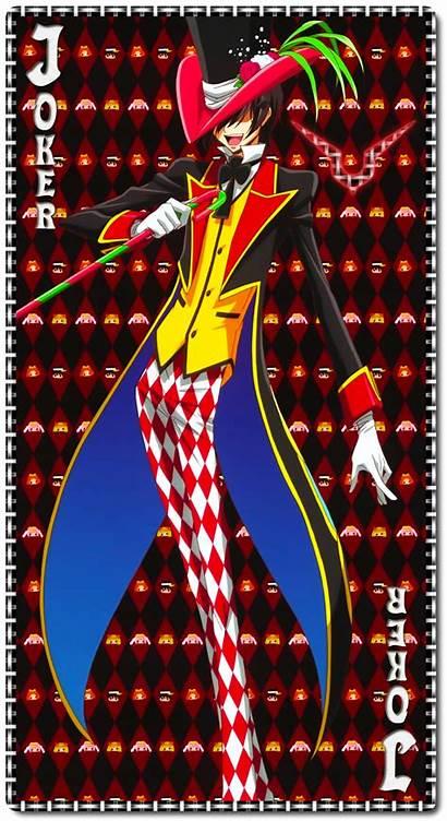Lelouch Lamperouge Joker Geass Code Hangyaku Hatter