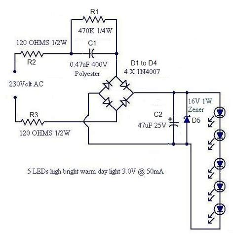 How Make Simplest Compact Watt Led Driver Circuit