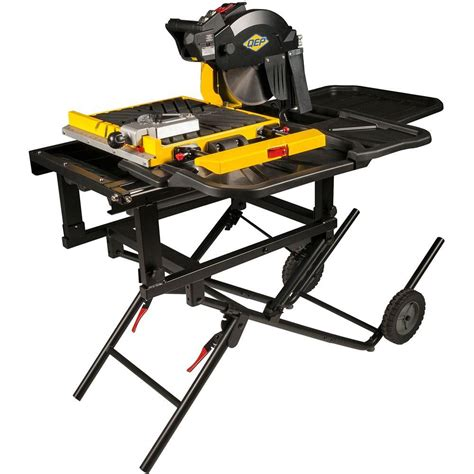 Home Depot Qep Tile Saw by Qep 900xt 2 25 Hp 10 In Professional Tile Saw 61900q
