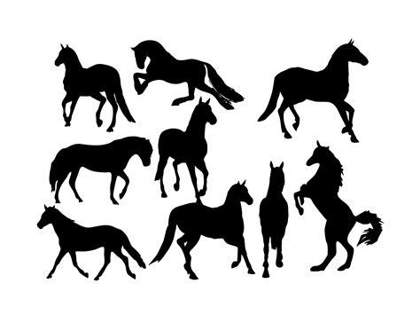 horse  vector art   downloads